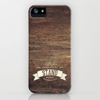 Eph 6:13 - Stand! iPhone & iPod Case by Pocket Fuel