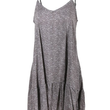 The Classic by DREAM SUPPLY - Flutter Bottom Cami Dress, Women's Cami Dress T-shirts