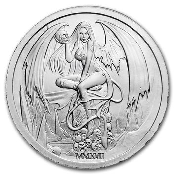 2017 2 oz Silver Round - Temptation of the Succubus