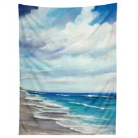 Rosie Brown Beach 1 Tapestry