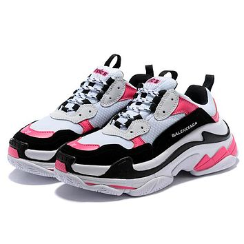 Balenciaga Women Men Fashion Casual Sneakers Sport Shoes
