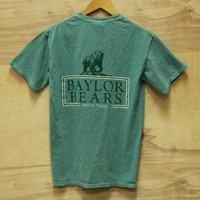 BU Baylor Box Pocket Tee