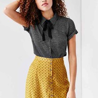 Cooperative Scallop-Edge A-Line Skirt