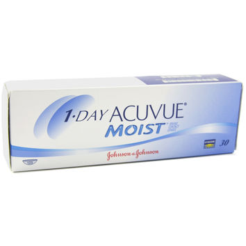 1-Day Acuvue Moist Contact Lenses (30 Pack)
