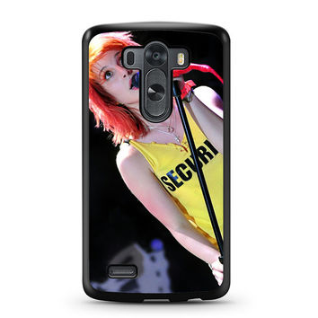 Hayley Williams Paramore Singer LG G3 Case