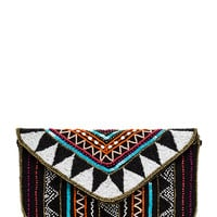 Bead You To It Tribal Clutch