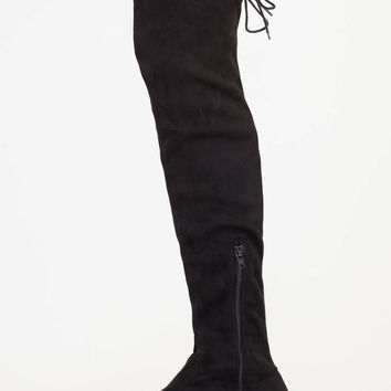 Come On Over-The-Knee Drawstring Boots GoJane.com