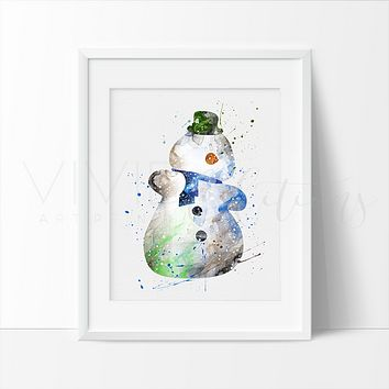 Chilly, Doc McStuffins Watercolor Art Print