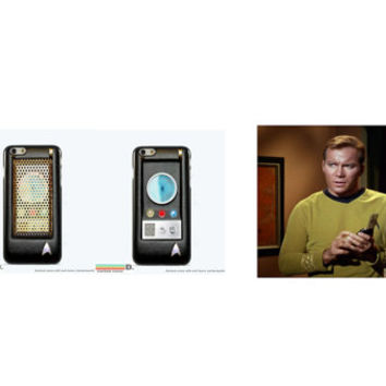 Star Trek Communicator, Custom Phone Case for iPhone 4/4s, 5/5s, 6/6s, 6/6s+ and iPod Touch 5