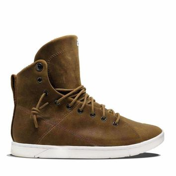 The Max Crazy Horse High Top Sneaker for Bodybuilding