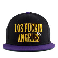 CAYLER AND SONS LOS FUCKIN ANGELES SNAPBACK HAT