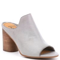 Latigo Hallie Block Heel Mules | Dillards