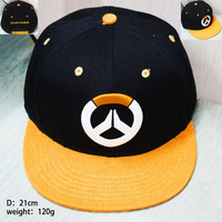 Overwatch Over Watch Cap Snapback hat characters gamer gaming xbox playstation stats