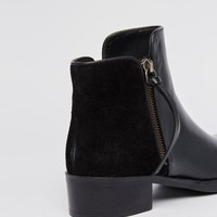 Dune | Dune Pryme Black Leather Ankle Boot at ASOS