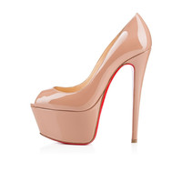Amourplato Women's High Heel Fashion Peep Toe Platform Sandals Nude Shoes SH179