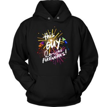 Loves Fireworks Party 4th Of July Hoodie