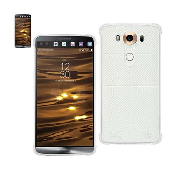 Reiko REIKO LG V10 MIRROR EFFECT CASE WITH AIR CUSHION PROTECTION IN CLEAR
