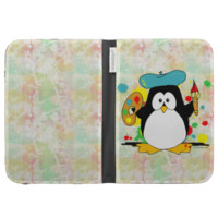 Artistic Penguin Cases For Kindle