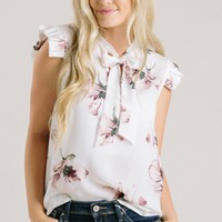 Mellie Floral Sleeveless Blouse