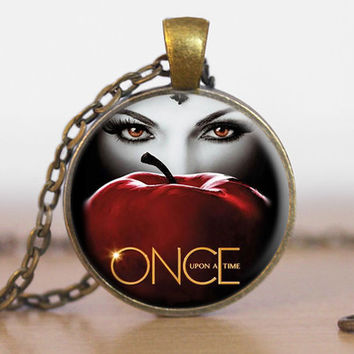 Once Upon A Time Evil Queen Necklace