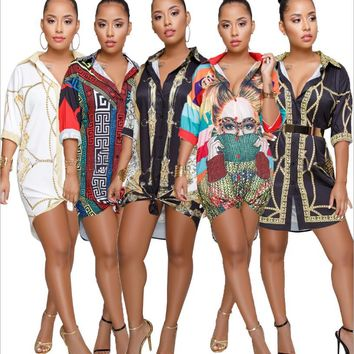 Womens Tops and Blouses 2018 Tunic Women Long Sleeve Blouse Sexy