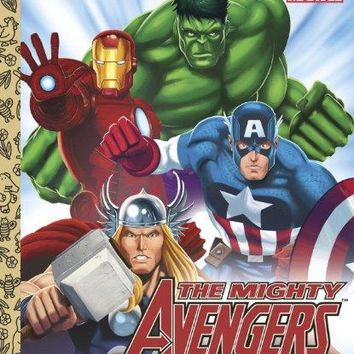 The Mighty Avengers Little Golden Books