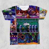 Comix Zone Unisex Video Game Sublimation T-shirt