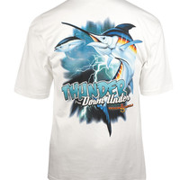 Men's Thunder Down Under S/S Pocket Fishing T-Shirt