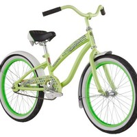 Diamondback 2013 Girl's Miz Della Cruz Cruiser (20-Inch Wheels, Lime Green)