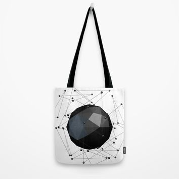 Abstract molecules design.Molecular structure Tote Bag by Taoteching / C4Dart