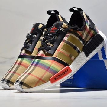 Burberry  ADIDAS NMD  ENERGY BOOST 2 ESM Gym shoes