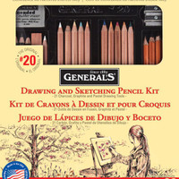 Drawing & Sketching Pencil Kit