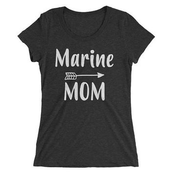Marine Mom Shirt , Proud Marine Mom Shirt