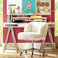 Furlicious Wingback Desk Chair