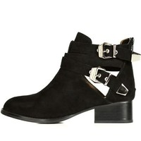 Jeffrey Campbell Black Suede Everly Boots