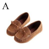 Aercourm A 2017 New children shoes Casual Sneakers baby Breathable shoes boys sports shoes kids Sneakers baby boat shoes Brown