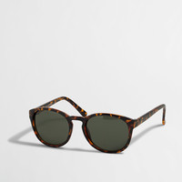 Factory round frame sunglasses : Sunglasses | J.Crew Factory