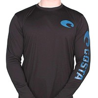 Performance Core Long Sleeve T-Shirt in Black by Costa Del Mar