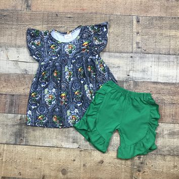 Zelda 2pc Girls Short Outfit RTS