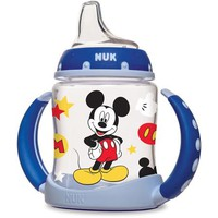 NUK Disney Mickey Mouse 5-oz Learner Cup, 1-Pack, Silicone Spout, BPA-Free - Walmart.com