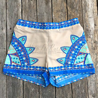 MOROCCAN SUNRISE SHORTS