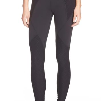 Beyond Yoga Grid Panels Leggings | Nordstrom