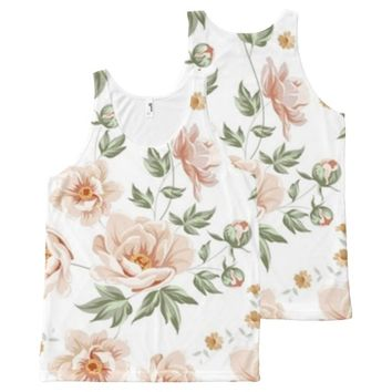 floral 30 All-Over-Print tank top