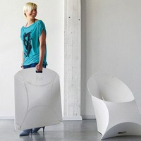 Flux Foldable Armchair ? Dining and Side Chairs -- Better Living Through Design