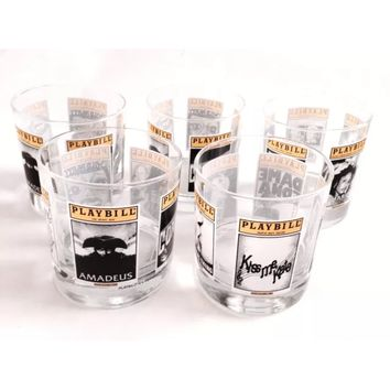 Playbill Cocktail Glasses (2Pk)