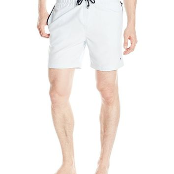 Original Penguin Men's Elasticated Waist Mearl Swim Trunk