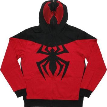 Spider-Man Scarlet Spider-Man Costume Marvel Comics Hoodie