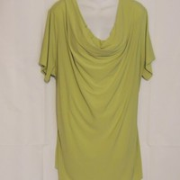 Jaclyn Smith Blouse Plus Size 3X Green