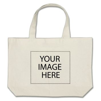 Design Your Own Custom Photo Jumbo Tote Bag