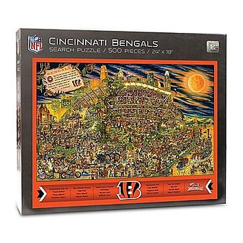 Cincinnati Bengals Find Joe Journeyman 500-piece Puzzle